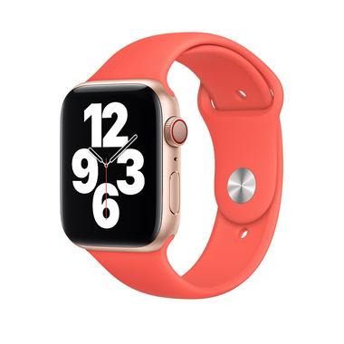 Apple pasek sportowy w kolorze różowego cytrusa