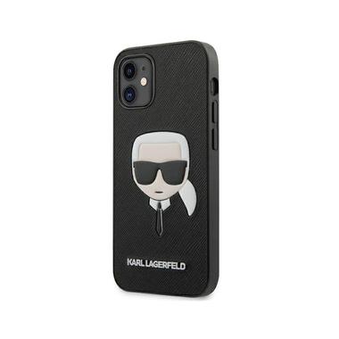 Karl Lagerfeld Saffiano Ikonik Karl`s Head