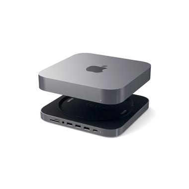 Satechi hub i aluminiowy stojak dla Mac Mini