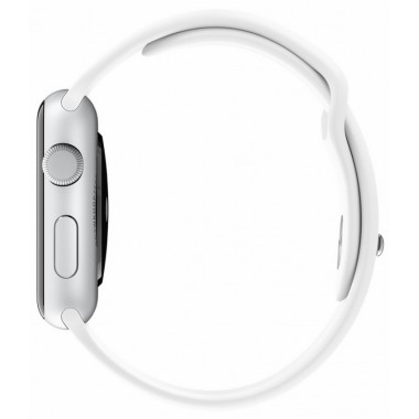 Apple Watch 42mm White Sport Band